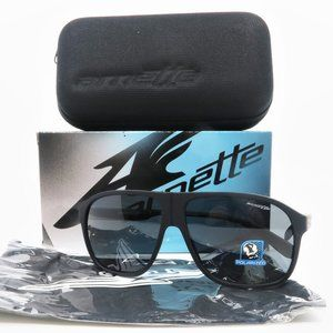 Arnette 4243-447/81 GRAND Matte Black Sunglasses